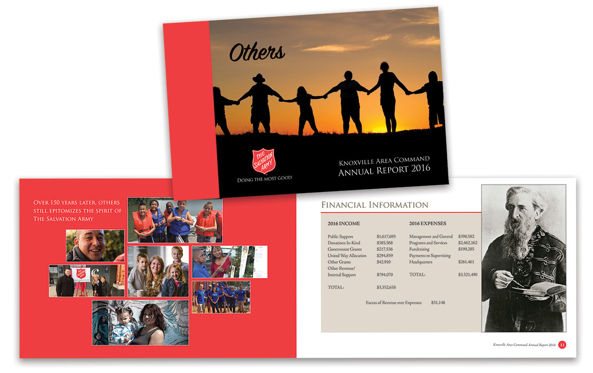 Salvation Army Annual Report